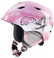 Uvex S5661321300_Pink Snowman_46-50 cm - Casco da sci Bambini, colore: Rosa Pink Snowman