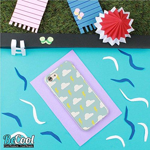 BeCool®- Coque Etui Housse en GEL Flex Silicone TPU Iphone 8, Carcasse TPU fabriquée avec la meilleure Silicone, protège et s'adapte a la perfection a ton Smartphone et avec notre design exclusif. Il  L1218