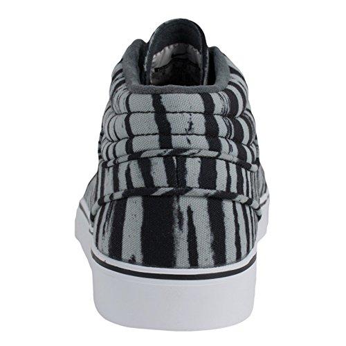 Nike Stefan Janoski Mid PRM Schwarz/Grau