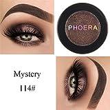 Vovotrade 24 Farben Eye Shadow makeup Pearl Metallic eyeshadow Palette PHOERA Glitter schimmernde Farben Lidschatten Metallic Eye Kosmetik (N)