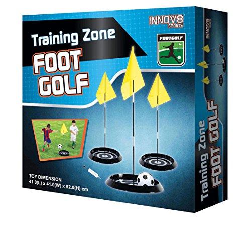 Preisvergleich Produktbild Foot Golf Fußball Golf Spiel mit 3 Flaggen toller Spaß