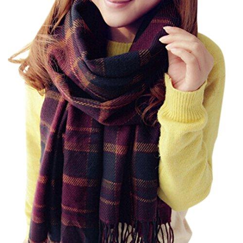Moin Nuevo Plaid flecos bufandas de la moda Abrigo Del Mantón Chal Cashmere Mujer Con Flecos A Cuadros para