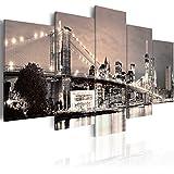 murando - Cuadro en Lienzo 200x100 cm - New York - Impresion en calidad fotografica - Cuadro en lienzo tejido-no tejido - Ciudad 030202-11