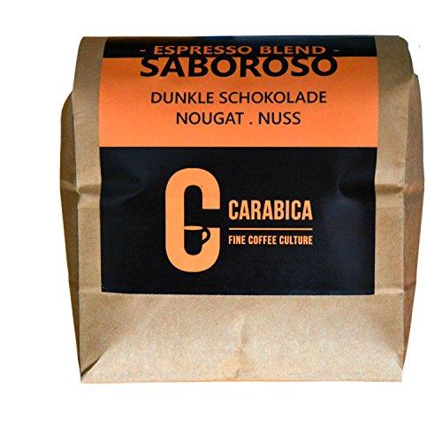 carabica Espresso Saboroso 725g | Espressobohnen mit 70% Arabica und 30% Robusta