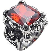 4a0c6bc98161 Anillo de hombres - TOOGOO(R) anillo de joyeria para hombre motorista