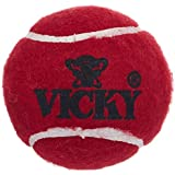 Vicky Cricket Ball Tennis Heavy, Pack of 6 (Maroon)