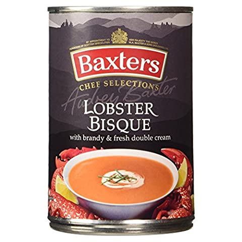 Baxters Luxury Lobster Bisque Soup with Brandy and Fresh Double
