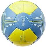 Kempa Spectrum Synergy Pro-Ballons de Handball Taille 2 Adulte Unisexe, Jaune Citron/Dove Bleu, 2