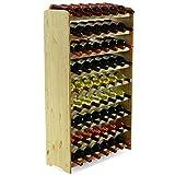 MODO24 Flessenrek wijnkast wijnstaander wijnrek voor 63 flessen NIEUW!