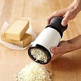 Tagliere per formaggi, home supply utensile da cucina in acciaio INOX up-scale affettatrice con bordo per affettare formaggi torta salsiccia fegato di oca