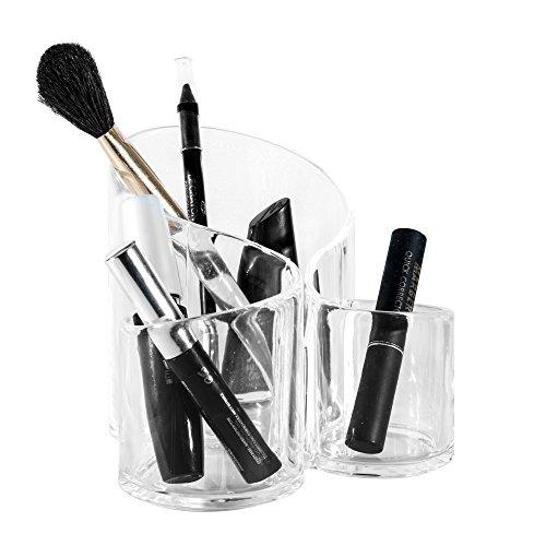 Solly´s SUSANN Kosmetik Organizer aus Acryl, Make Up Aufbewahrung, Kunststoff Becher für Schminke...