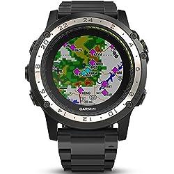 Garmin de mujer reloj de pulsera digital negro, ONE SIZE