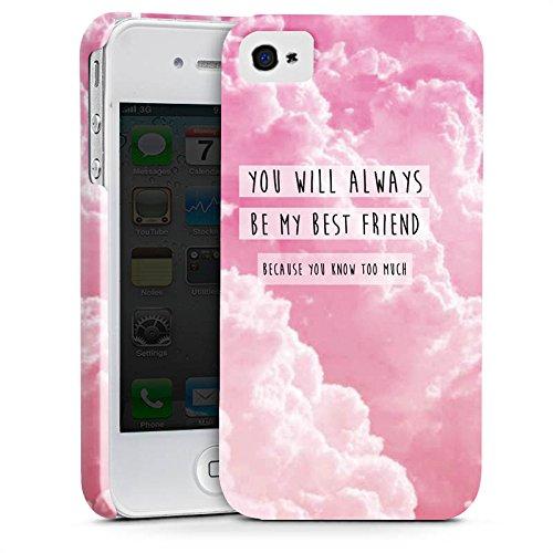 Apple iPhone X Silikon Hülle Case Schutzhülle Freunde BF Statement Premium Case glänzend
