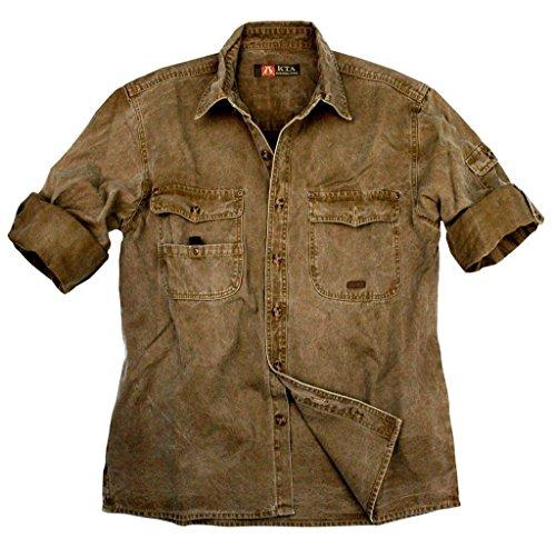 La chemise Kakadu Traders Toorak, 5S06 Tabac