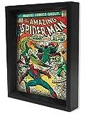 Pyramid America Marvel Comics Coque Amazing Spiderman 141encadrée Shadow Box 3D Poster 20,3x 25,4cm