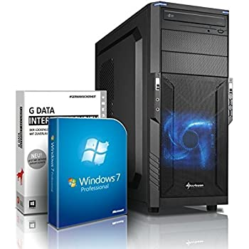 Ultra i7 Gaming-PC Computer i7 4790 4x4.0 GHz - GeForce GTX970 4GB DDR5 - 16GB DDR3 1600 - 1TB HDD - Windows7 - DVD RW - USB 3.0 - Gamer-PC #4789