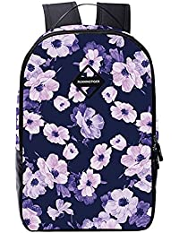 Runningtiger Flower Print Multipurpose Backpacks For Women Girls Students School Laptop Bags (small Flower 06)