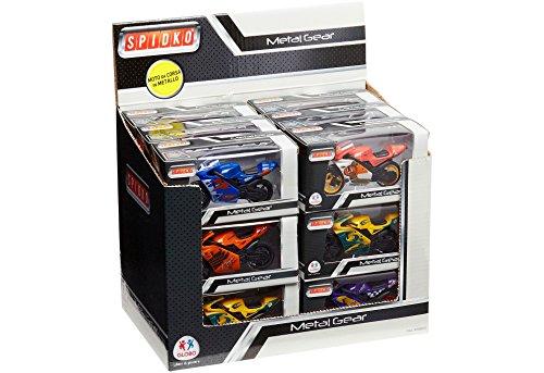Globo Toys Globo–37063Spidko Moto- Rueda Libre en una Caja, 1 Unidad [Modelos Surtidos]