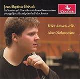 Brevel: Six Sonatas for Cello by Amosov