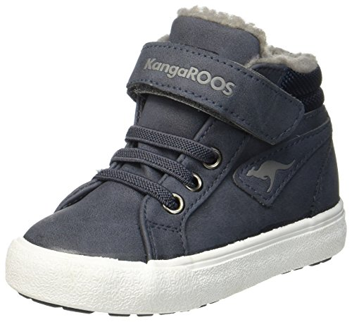 KangaROOS Unisex-Kinder KAVU III High-Top, Blau (dk Navy/Grey 423), 21 EU