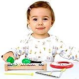 Tulatoo - Jouets pour bébé et tout-petits, instruments de musique. Ensemble de musique sensorielle et percussion pour enfants de tout âge