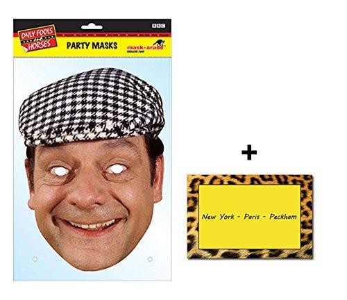 Del Boy Derek Trotter Official Only Fools and Horses Single Karte Partei Gesichtsmasken (Maske) Enthält 6X4 (15X10Cm) starfoto