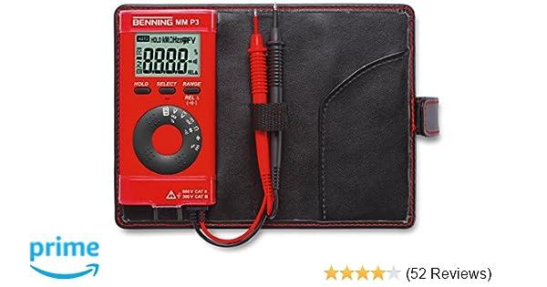 Digitaler Entfernungsmesser Rätsel : Benning 044084 mm p3 digital multimeter im pocketformat: amazon.de