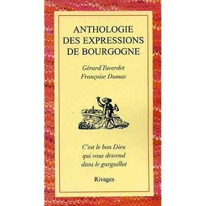 Anthologie des expressions en Bourgogne