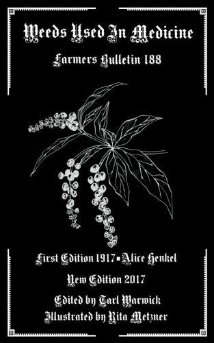 Weeds Used as Medicine: Farmers Bulletin 188