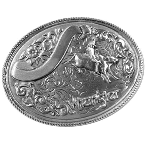 Lizenziertes Wrangler-Buckle mit Bull-Riding-Motiv, Gürtelschnalle Gürtelschnalle Bull Riding