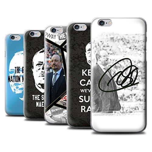 Officiel Newcastle United FC Coque / Etui pour Apple iPhone 6S / Pack 8pcs Design / NUFC Rafa Benítez Collection Pack 8pcs