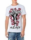 Philipp Plein Herren T-Shirt Weiß weiß Gr. X-Large, weiß