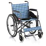 T-Day Rollstühle Rollstühle, Faltbarer Aluminiumreiseklappstuhl, Faltende Selbstfahrende Rollstühle, Tragbarer, Verstärkter Rahmen