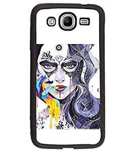 PRINTSWAG GIRL ART Designer Back Cover Case for SAMSUNG GALAXY MEGA 5.8