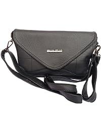 Zobi Fashion Women's Sling Bag Perfect Design (Stylish Black)