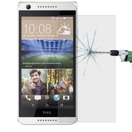 Panzerglas für HTC Desire 626G Dual Sim Bildschirm Schutz Echt Glas Panzer Folie Tempered Glass 9H Schutzglas Echtglasfolie Bildschirmschutzfolie