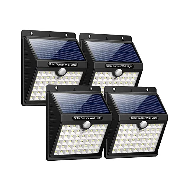 HETP Lampe Solaire Extérieur Jardin, 46 LED éclairage Solaire ...