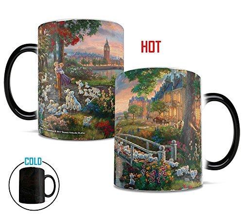 'Tassen, Thomas Kinkade Disney 101Dalmatians Gemälde Hitze Reveal Keramik Kaffee Tasse-11Unzen