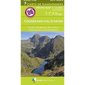 Couserans-Val d'Aran : 1/50 000
