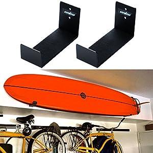 Unho®2 Stück Surfboard Wandhalterung Surfbrett Halterung Speicherung aus...