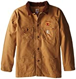 Best Carhartt Coats And Jackets - NCAA Iowa State Cardinals Men's Weathered Chore Coat Review