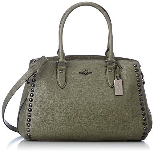 best loved purchase cheap arrives 36399QBB75 Coach Sac à main Femme Cuir Vert Vert Officiel ...