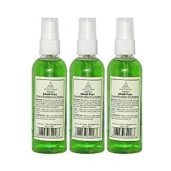 Khadi Pure Herbal Neem & Cucumber Face Freshener - 100ml (Set of 3)