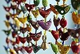 a1sonic ® 20Bird Bell Tota Traditionelle indische zum Aufhängen Dekoration Indischen Geschenk Artikel
