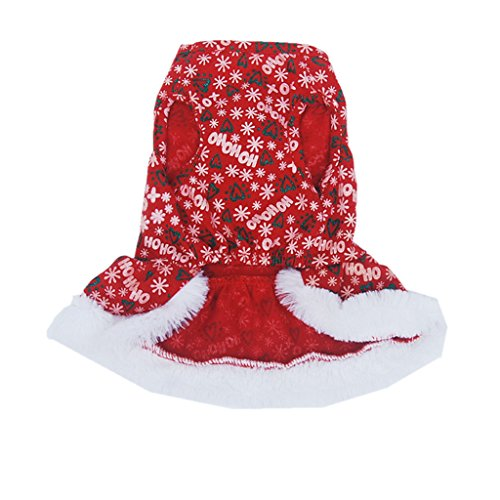 Gazechimp Hund Katze Outfit Chrismas Kleid Haustier Pullover Kleidung Weihnachten Halloween Kostüm Dekor - (Hund Für Halloween Outfits)