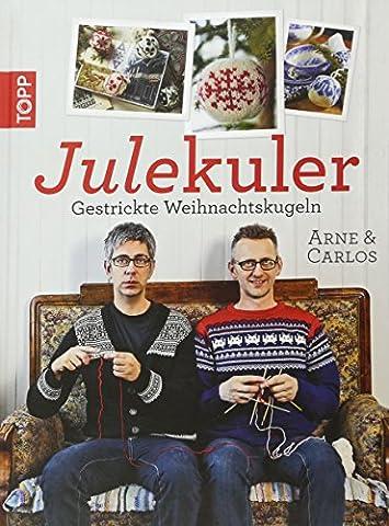 Julekuler: Gestrickte Weihnachtskugeln