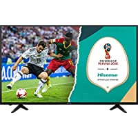 HISENSE H43AE6000 TV LED Ultra HD 4K HDR, Precision Colour, Super Contrast, Smart TV VIDAA U, Tuner DVB-T2/S2 HEVC HLG, Crystal Clear Sound 14W, Wi-Fi prezzi su tvhomecinemaprezzi.eu