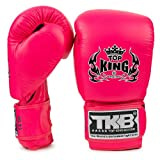 KINGTOP Top King - Guantes de Boxeo con Doble Cerradura, Color Rosa neón, Color Rosa neón, tamaño 454 g