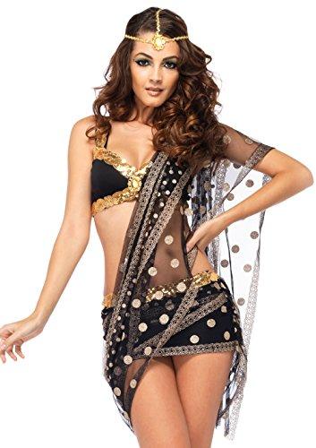 Leg Avenue 85218 - Bollywood Liebling Kostüm Set, 3-teilig, Größe L, (Männer Bollywood Kostüme)