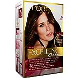 L'Oréal Paris Excellence Coloración Crème Triple Protección, Tono: 6 Rubio Oscuro